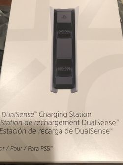 Brand New Sony PS5 DualSense Charging Station for Sale in Alexandria,  VA