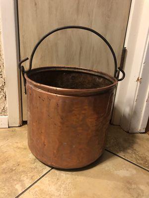 Heavy Copper pot for Sale in Grand Prairie, TX