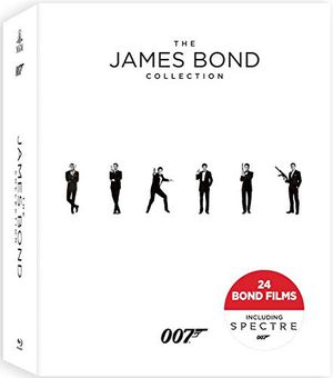 James Bond Blu-Ray disc movie collection for Sale in Lake Forest Park, WA