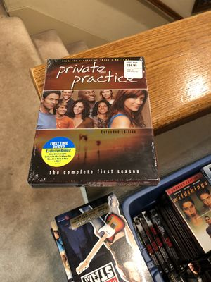 Private Practice The Complete First Season DVD Brand New Factory Sealed tv series one 1 s1 box set for Sale in Buena Park, CA