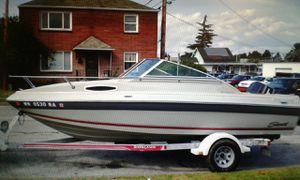 1990 19 ft Seaswirl cuddly 150 hp Johnson for Sale in Everett, WA