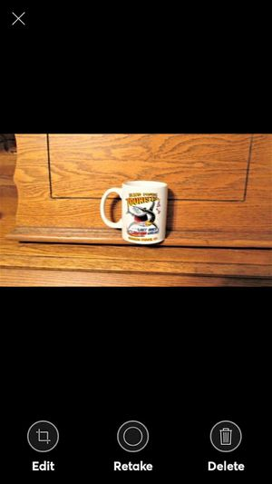"VIRGINIA BEACH VA Souvenir Mug--has a shark saying ""send more tourists the last ones tasted great"" for Sale in Lynchburg, VA"
