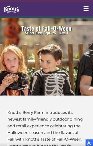 Knotts Fall O Ween for Sale in Fontana, CA