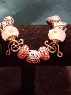 Luxury Crystal and Glass Bead Bangle for Sale in Philadelphia,  PA