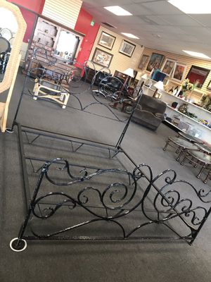 King Bed Frame for Sale in Modesto, CA