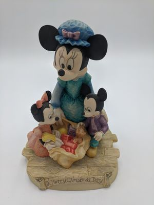 "Minnie mouse and babies ""A Merry Christmas Day"" figurine for Sale in Seattle, WA"