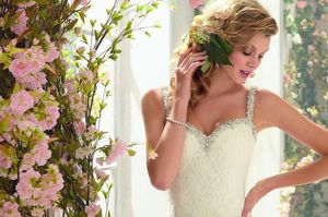 Mori Lee Wedding Dress NWT Size 10 for Sale in Paramount, CA