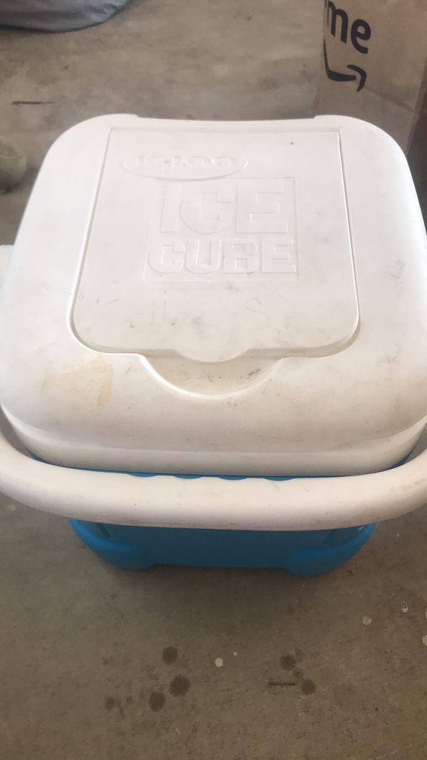 Small igloo cooler