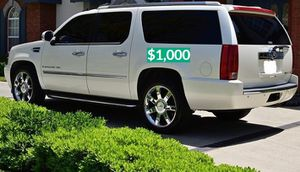 $1.000 2OO8 Cadillac Escalade Clean Interior and exterior!no accidents! very strong.💎 for Sale in Phoenix, AZ