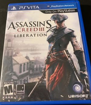 Assassins creed 3 liberation for ps vita for Sale in Oakland, CA