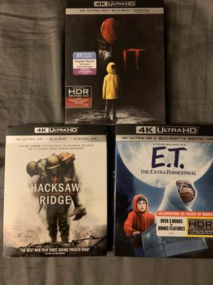 4K movies for Sale in Chino, CA