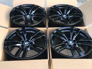 "20"" BMW X5 X5m X6 X6m Original Factory Rims OEM wheels 300m black for Sale in Huntington Beach, CA"