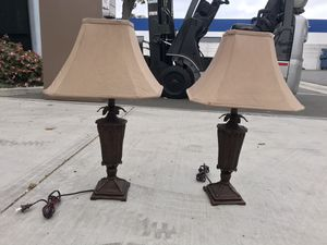 BOHO Tiki Island Table Lamps for Sale in Los Alamitos, CA