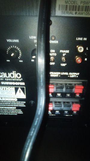 Subwoofer/speaker for Sale in Bakersfield, CA