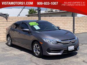 2016 Honda Civic for Sale in Ontario, CA