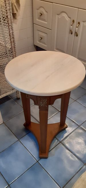 Antique marble top table for Sale in North Providence, RI