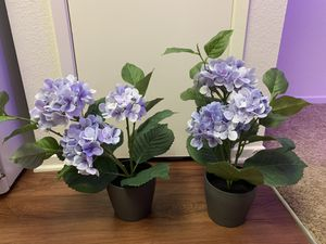 Artificial flowers + plant pots for Sale in San Diego, CA