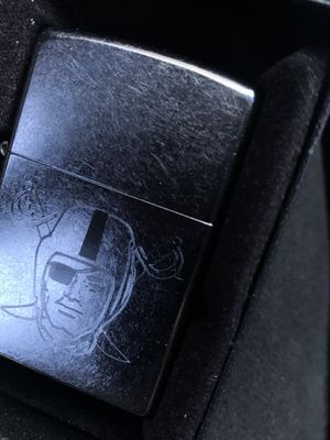 Raiders zippo lighter for Sale in Los Angeles, CA