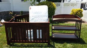 Full Size Crib and Changing Table for Sale in Alexandria, VA