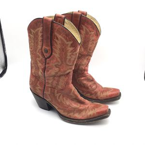 Corral Red Western Vintage Cowboy Boots for Sale in Battle Ground, WA