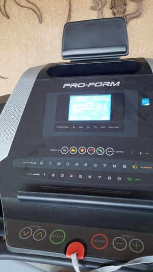 Pro form treadmill. Used only a few times. Gym. Exercise. for Sale in Fontana, CA