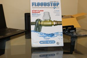 Flood stop water heater auto-shutoff valve for Sale in Santa Clarita, CA
