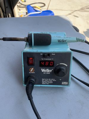Weller EC 2002 soldering iron digital heat settings for Sale in Yorba Linda, CA