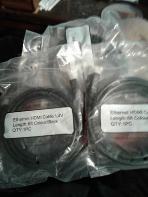 HDMI CABLES for Sale in Williamsport, PA