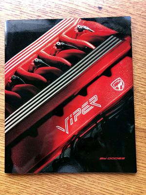 Dodge Viper brochure for Sale in Cromwell, CT