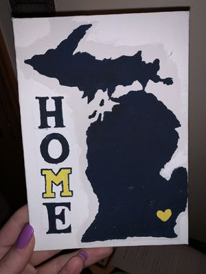 UofM Canvas for Sale in Coldwater, MI