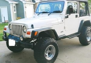 Clean_2000 Jeep Wrangler FWD 4.0L$10OO for Sale in Inglewood, CA