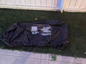 Kawasaki premium motorcycle cover for Sale in San Diego, CA