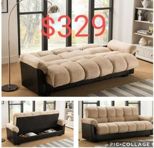 Futon sofa sleeper new in the box for Sale in Ontario, CA