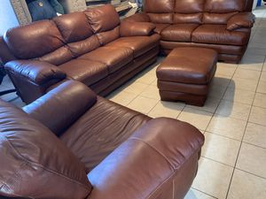Leather couches for Sale in Avondale, AZ