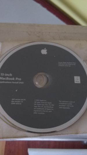 APPLE INSTALL DISK MACBOOK PRO for Sale in San Jose, CA