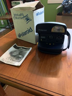 Polaroid Instant Camera with Box and Instruction Booklet for Sale in West Linn, OR