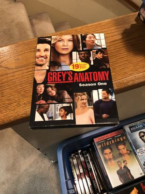 Grey's Anatomy The Complete First Season S1 one 1 tv series box set for Sale in Buena Park, CA