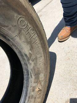 Ohtsu 11R24.5 149/146L tractor tires for Sale in Riverside,  CA