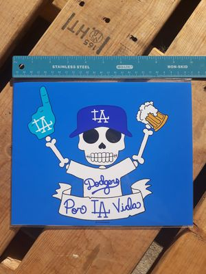 "Dodgers Day of the Dead 8""x10"" Print for Sale in Los Angeles, CA"