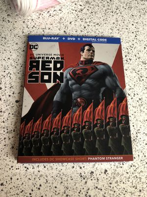 Superman- Red Son -BLU-RAY + DVD for Sale in Mesa, AZ