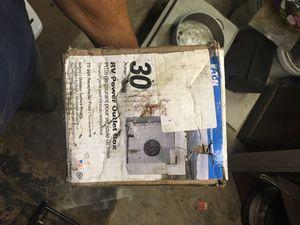 30 amp RV Electrial Box for Sale in Orlando, FL