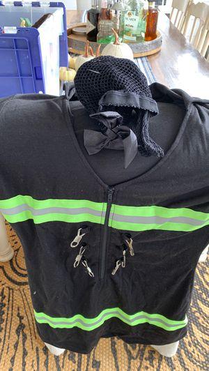 EMT Halloween costume shot dress with stockings size Medium for Sale in Wenatchee, WA