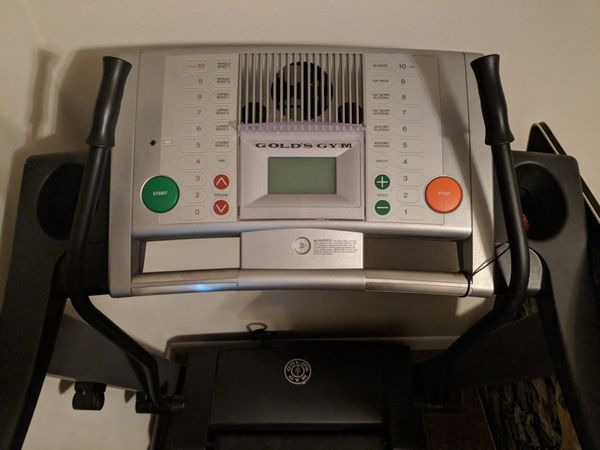 Gold Gym Treadmill for $350