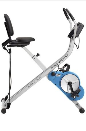 NEW PROFORM EXERCISE DUO BIKE ALREADY ASSEMBLED for Sale in Glendale, CA