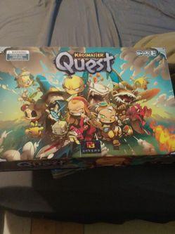 Krosmaster Quest Boardgame for Sale in Kempner,  TX