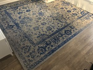 8 x 10 Gray and Blue Rug for Sale in Arlington, VA