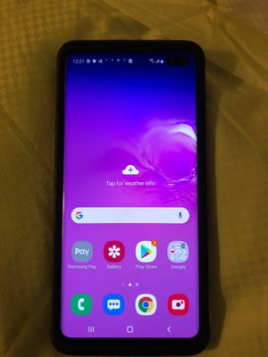 Samsung Galaxy S10 plus for Sale in Salt Lake City, UT