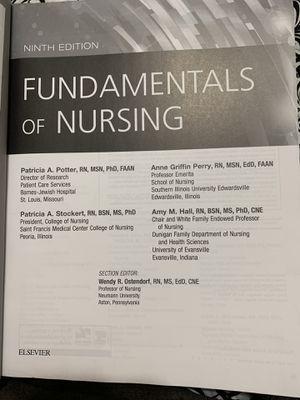 Fundamental of Nursing 9th Edition for Sale in Hialeah, FL