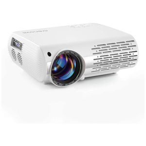 Crenova XPE660 Upgraded Home Entertainment Video Projector - Full 1080P HD Supported - 5,000 Lumens Create Vivid Brightness - 1280X800 Native Resolut for Sale in Ontario, CA
