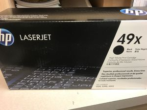 Hp toner 49x for Sale in Chardon, OH